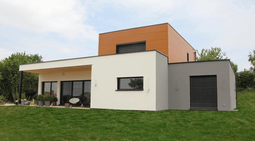 Bois et Acier - Luxembourg maison-individuelle Accueil